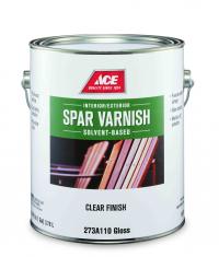 ACE SPAR VARNISH - Американский водостойкий яхтный лак, высокой прочности.