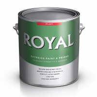 Фасадная краска Premium Royal Exterior House Paint Flat Acrylic Latex