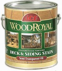 Ace WOOD Royal Deck Siding Semi-transparent Oil Stain пропитка для наружных работ