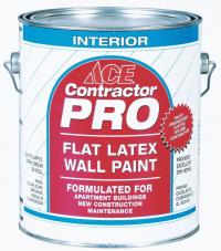 Краска для внутренних работ Contractor Pro Flat Interior Wall Paint