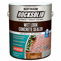 Пропитка для бетона с эффектом мокрого камня RockSolid Wet Look Concrete Sealer