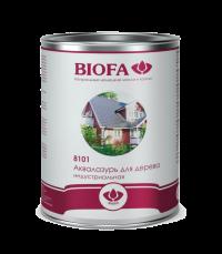 Аквалазурь для дерева, индустриальная BIOFA - 8101