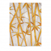 Витражная пленка Бамбук - Bamboo, 61х91см