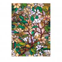 Витражная пленка Магнолия - Magnolia, 61х91см