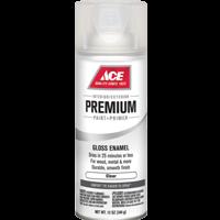 Спрей Ace PREMIUM Enamel прозрачный, лак
