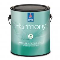 Гипоаллергенная краска для внутренних работ Sherwin Williams Harmony Interior Acrylic Latex