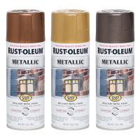 Эмаль антикоррозийная Rust Oleum Metallic