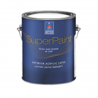 Краска для внутренних работ Sherwin Williams SuperPaint Interior Latex Flat