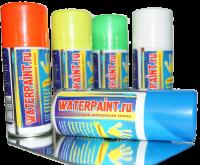 Меловая аэрозольная краска WaterPaint