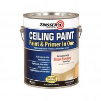 Потолочная краска с розовым индикатором Zinsser Ceiling Paint